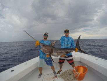Another nice sword we put on deck right in the middle of the day