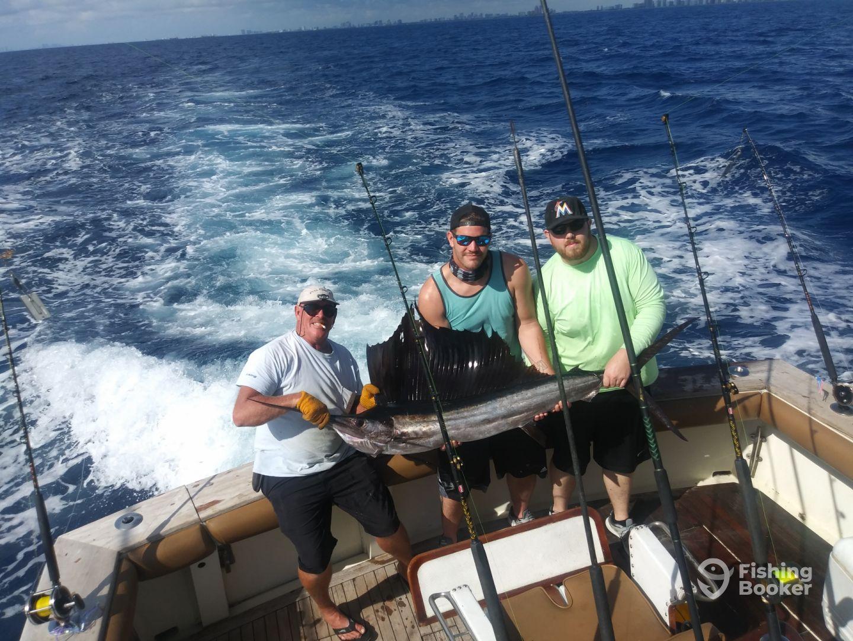 First Sailfish on Full Circle II