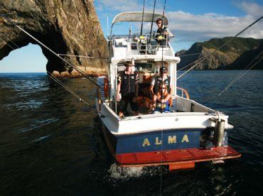Alma G Luxury Charter Boat