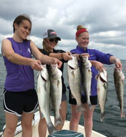 Ron Rodgers Striper Guide Service
