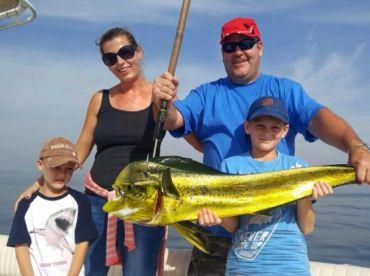 Soolyman Charters - 32' Yellowfin 1