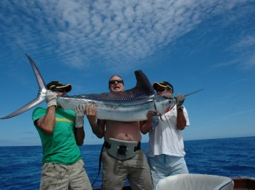 This was one of six White Marlins caught and released on the same day.