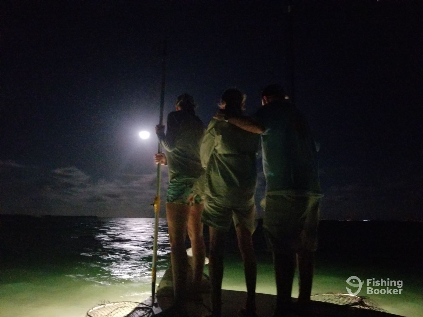 Night time lobster bully netting trips