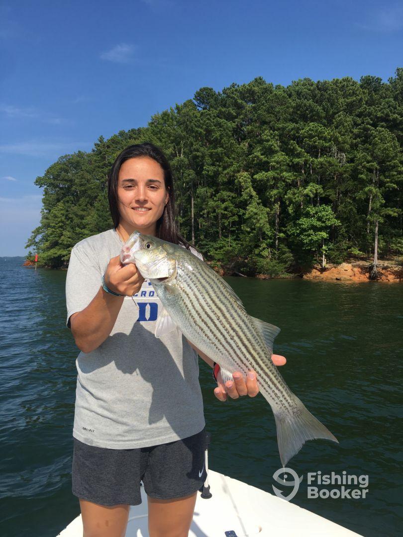 """Fish On"" Charters – Lake Lanier"