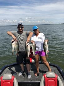 Corky And Tangie Guided Bass Fishing Tours