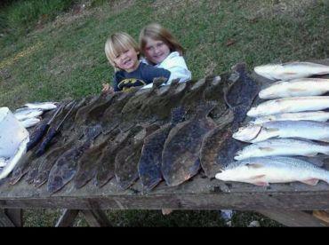 These were caught standing on a pier in orange Beach, Al