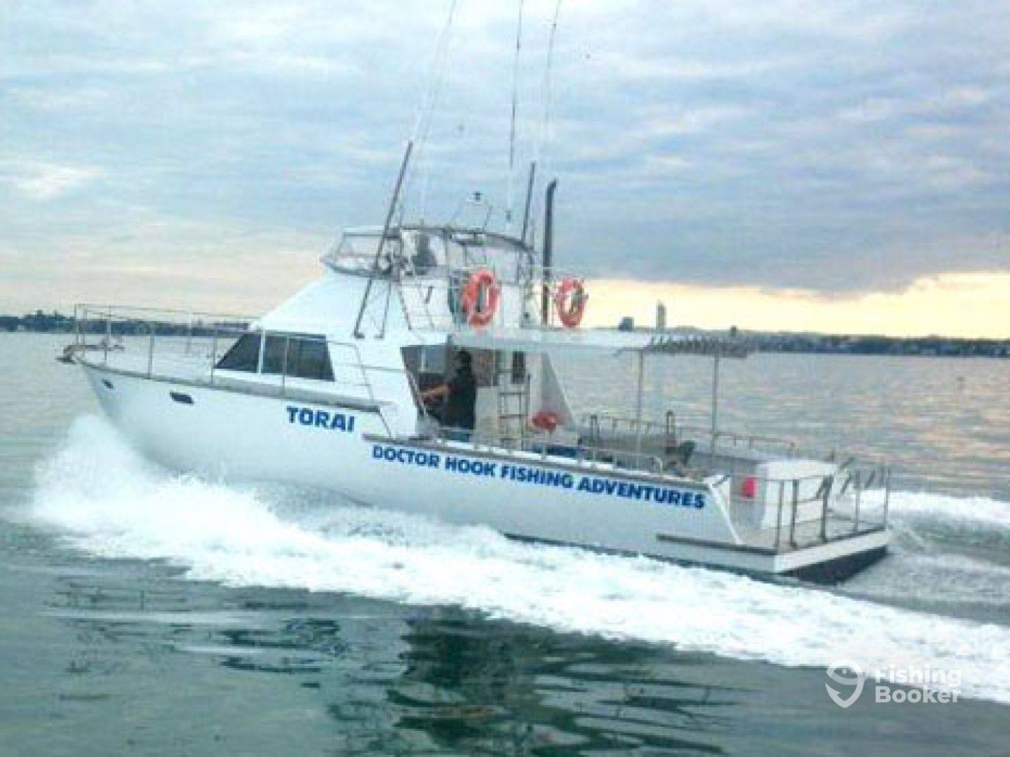 Doctor hook fishing torai 43 auckland new zealand for Fishing charters auckland