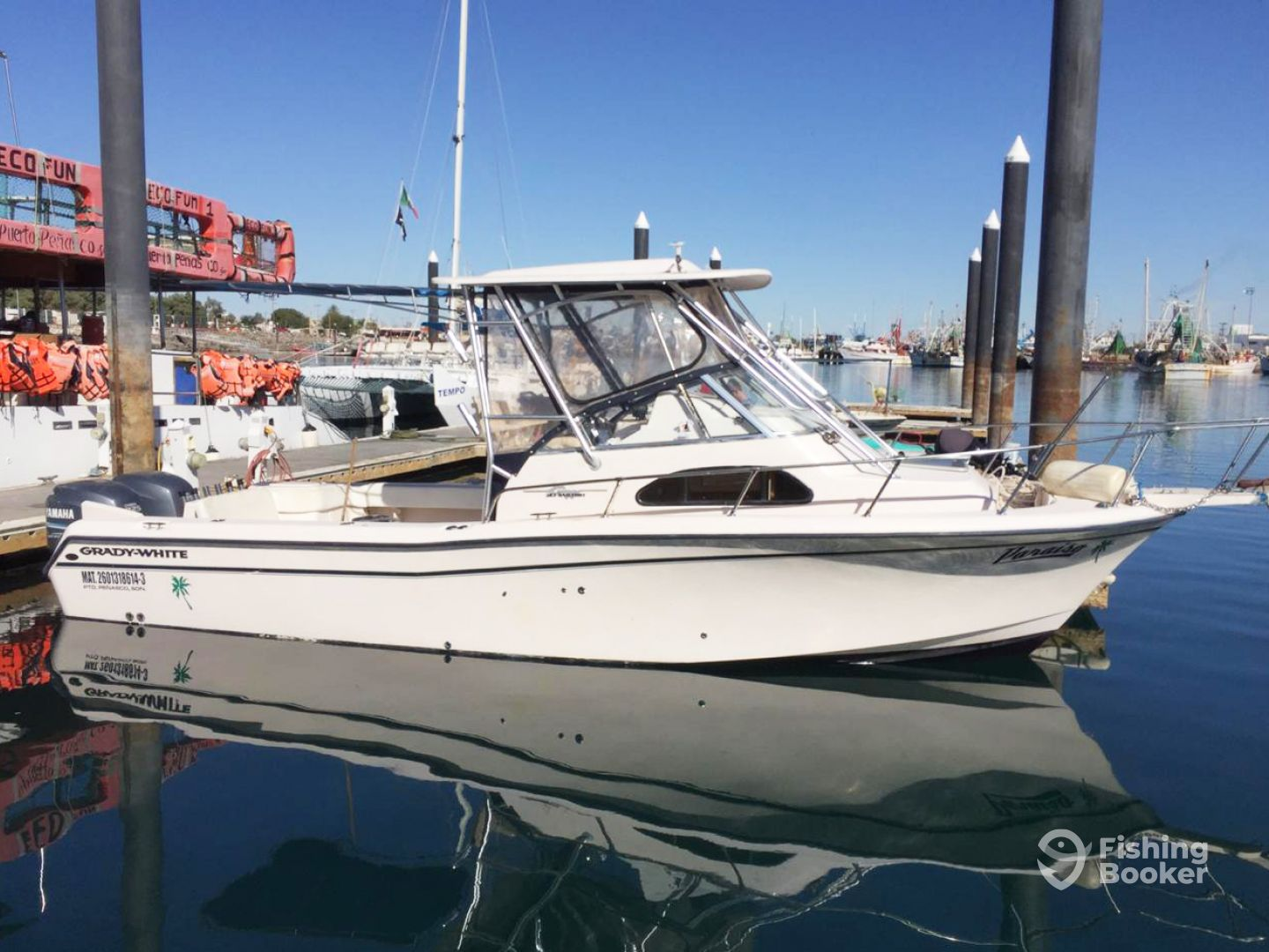 I just found Del Mar Charters – 30' Grady-White on FishingBooker