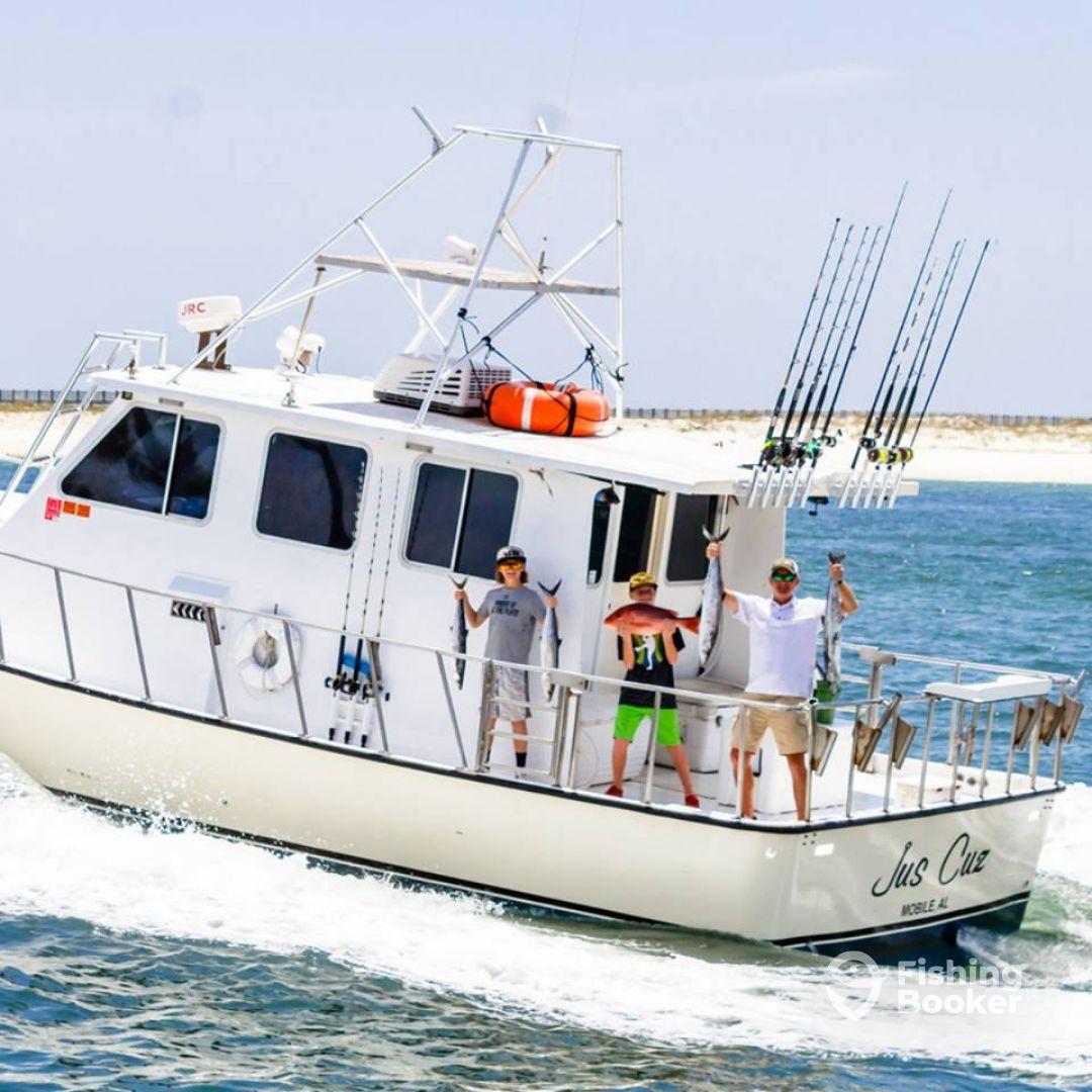 Jus Cuz Fishing Charters
