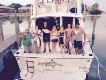 Another great trip aboard SuperFISHous!
