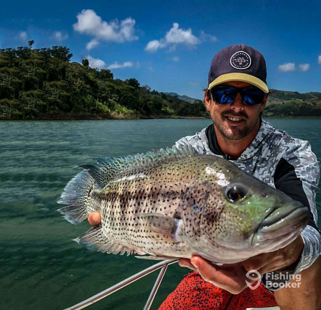 Fishing Lake Arenal