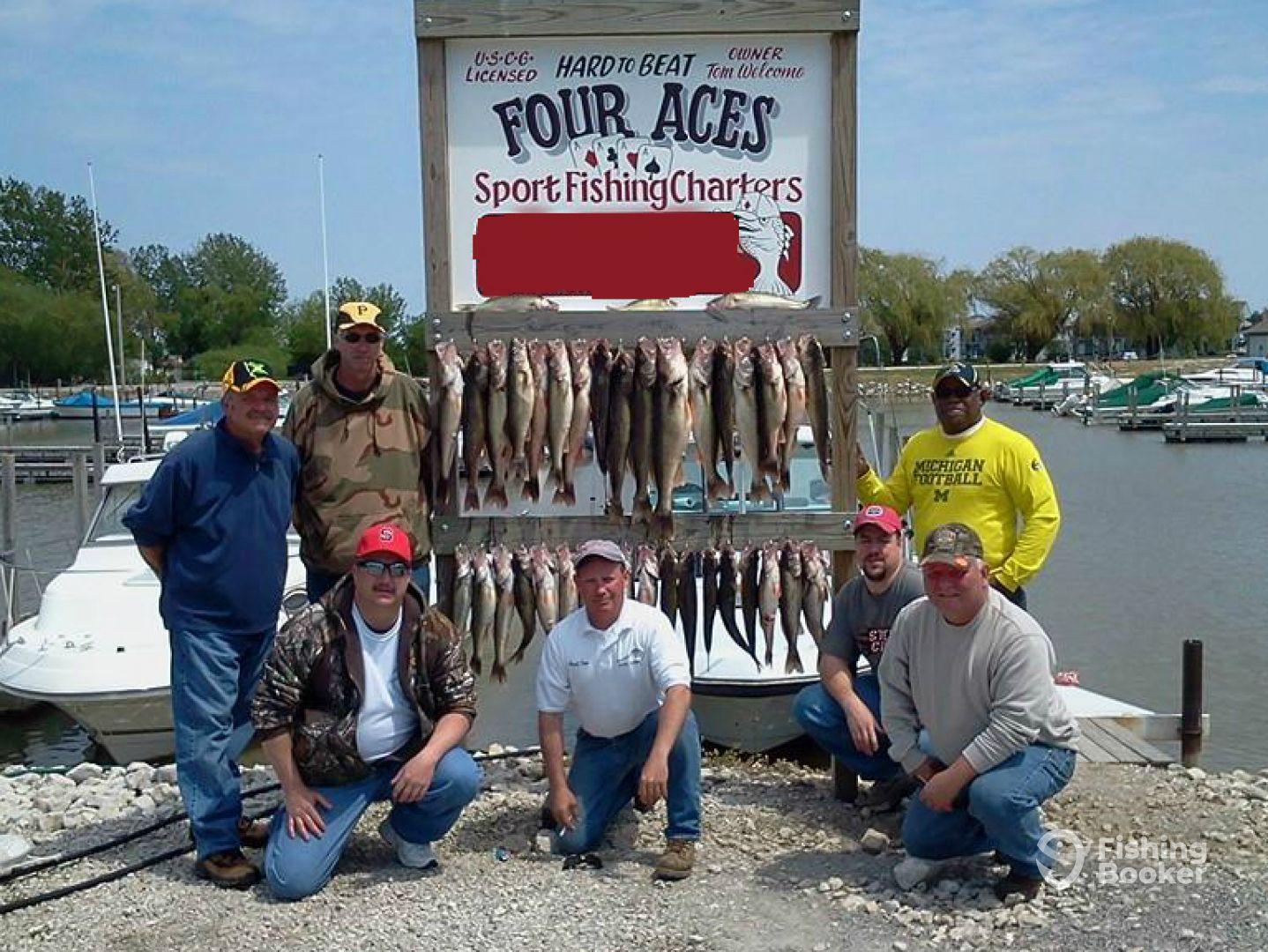 Four Aces Sportfishing –Port Clinton