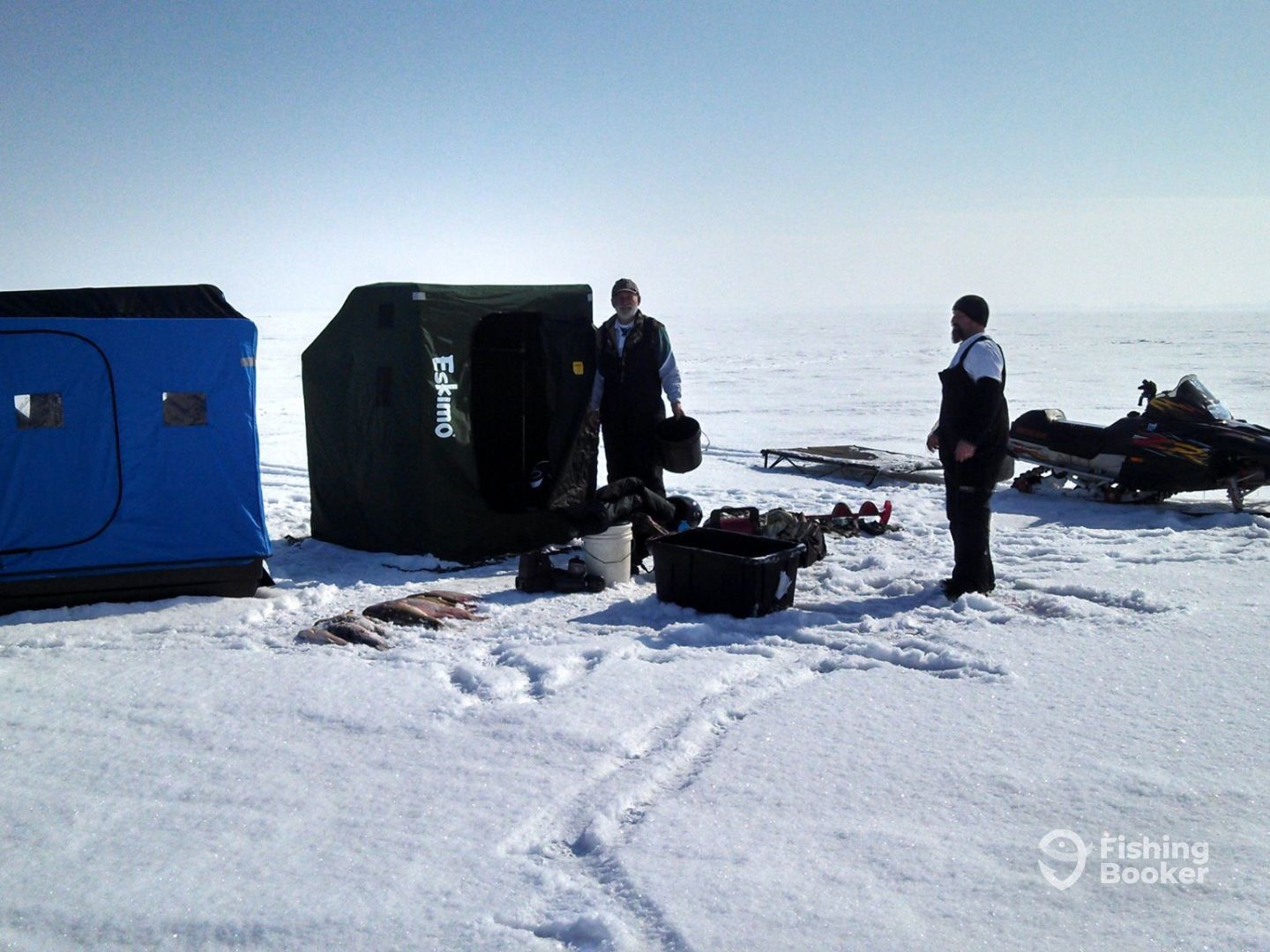 First Due Charters – Ice Fishing
