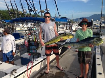 Fishing with the kids  Mahimahi