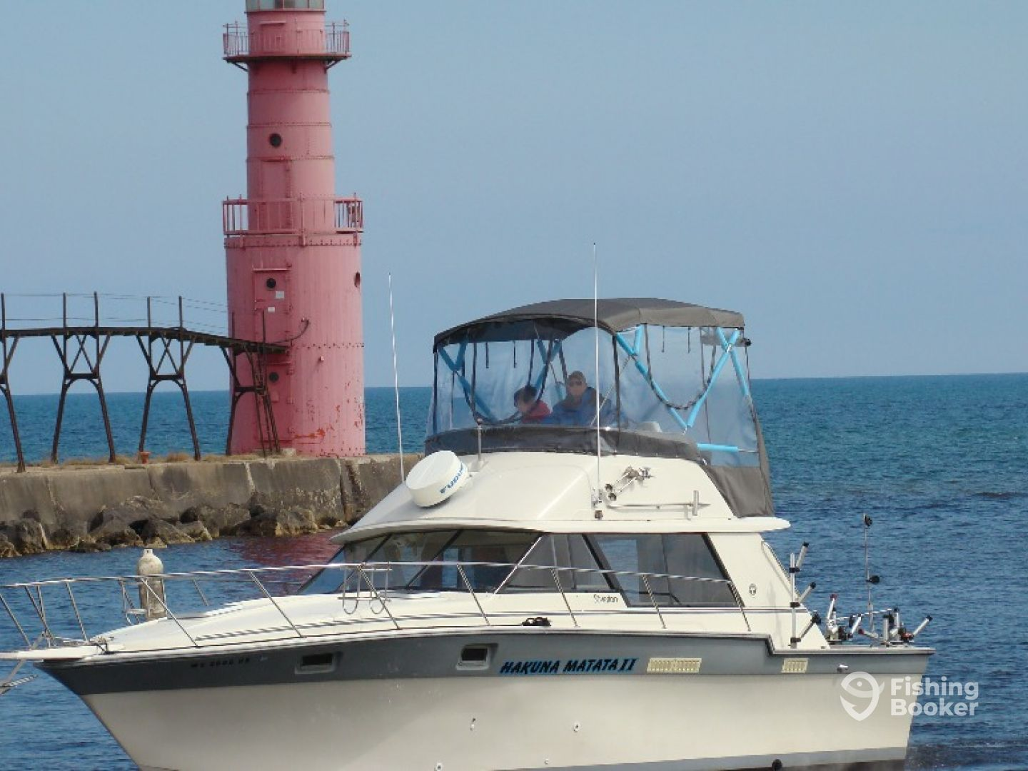Hakuna matata charters algoma wi fishingbooker for Algoma fishing charters