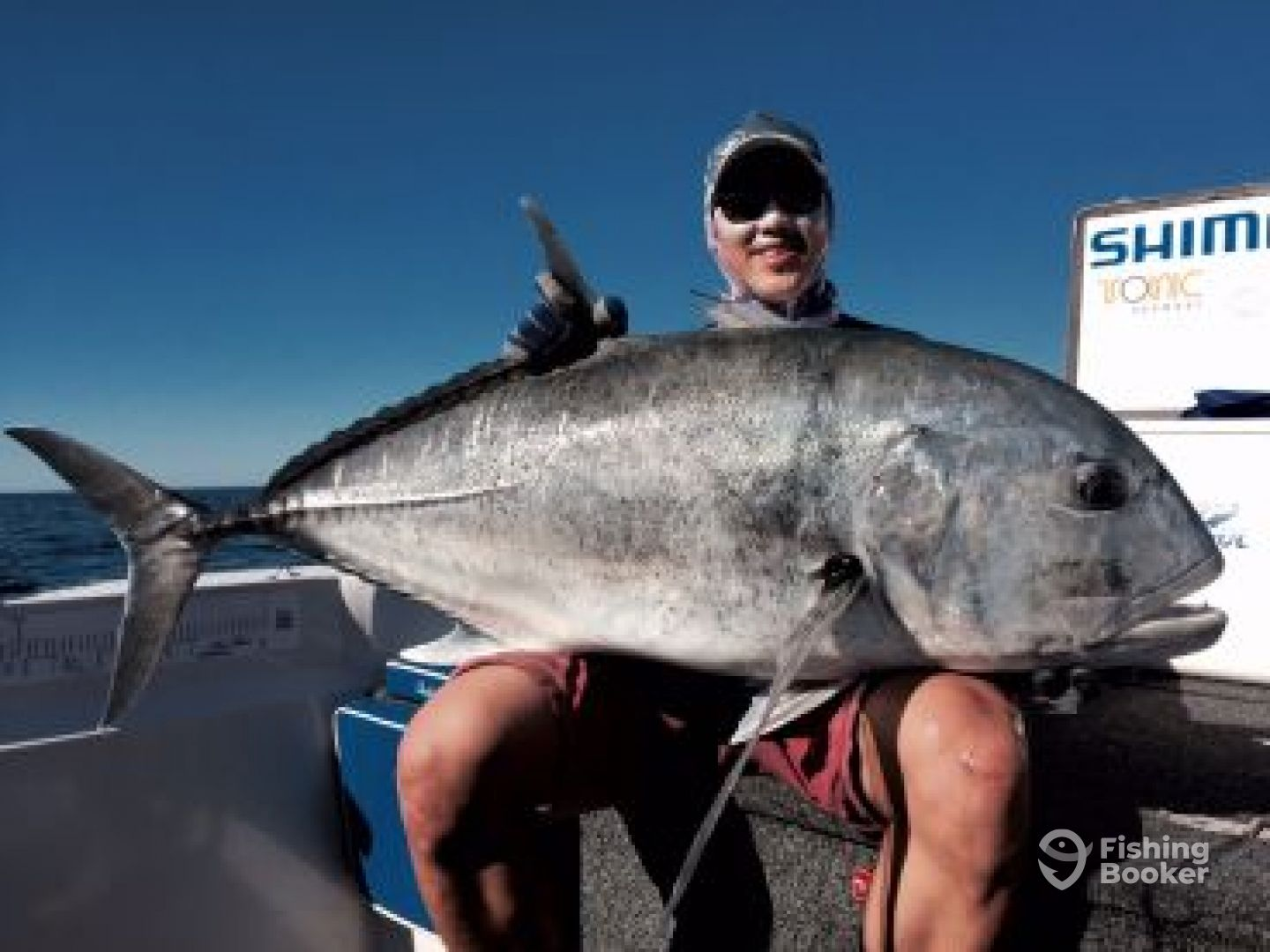 Lure casting for Giant Trevally.