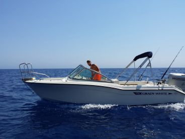 Discover Blue Fishing Charter – 20'