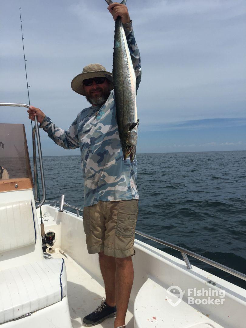 King Mackerel always fun to catch