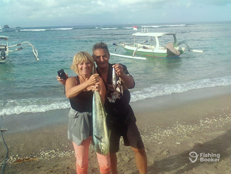 Sailing and Fishing Candidasa