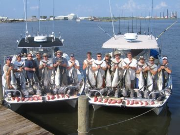 Tuna Time Charters, Golden Meadow