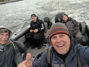 FishBilly Charters Detroit River Walleye Fish