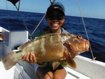 Esley Usher Fishing - Agua Mala, Caye Caulker