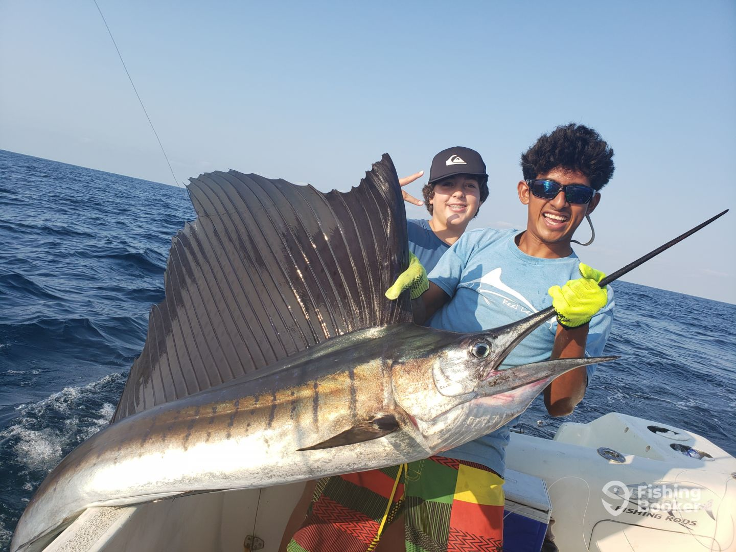 Nice pacific sailfish out off puerto escondido,mex