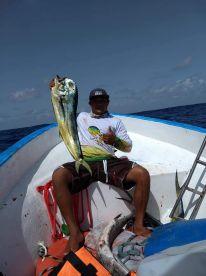 Roberto fishing