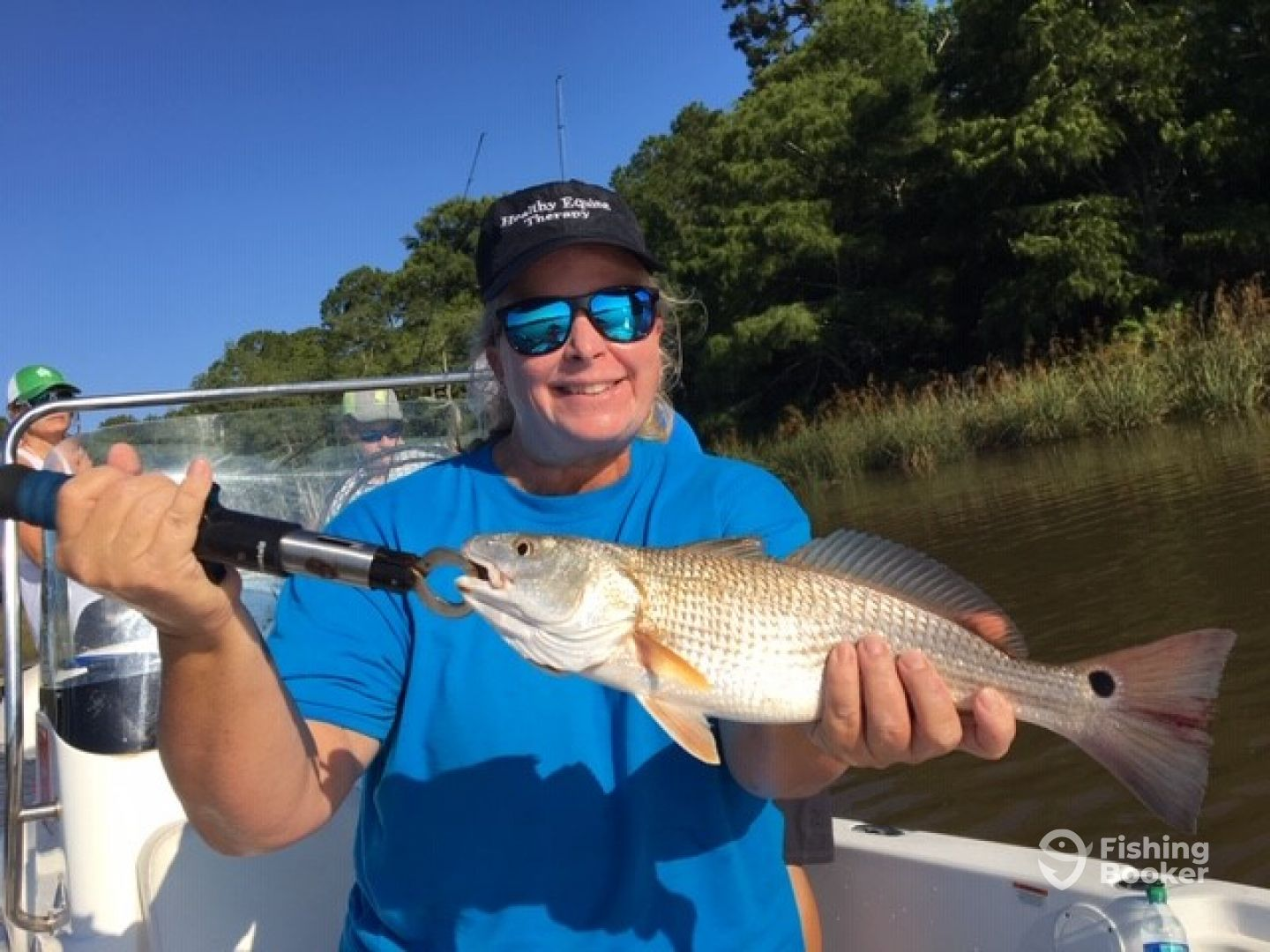 Ladies trip catching Redfish