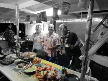 Seafood theme night