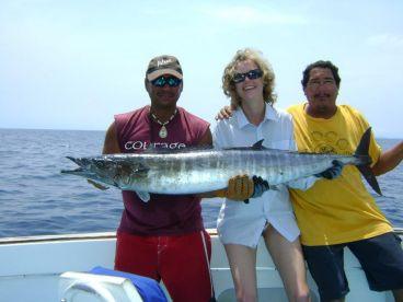 nice Wahoo fishing from Hilton Papagayo Resort