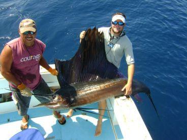 Sailfish FIshing from RIU Guanacaste