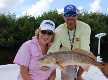 Becky and Redfish
