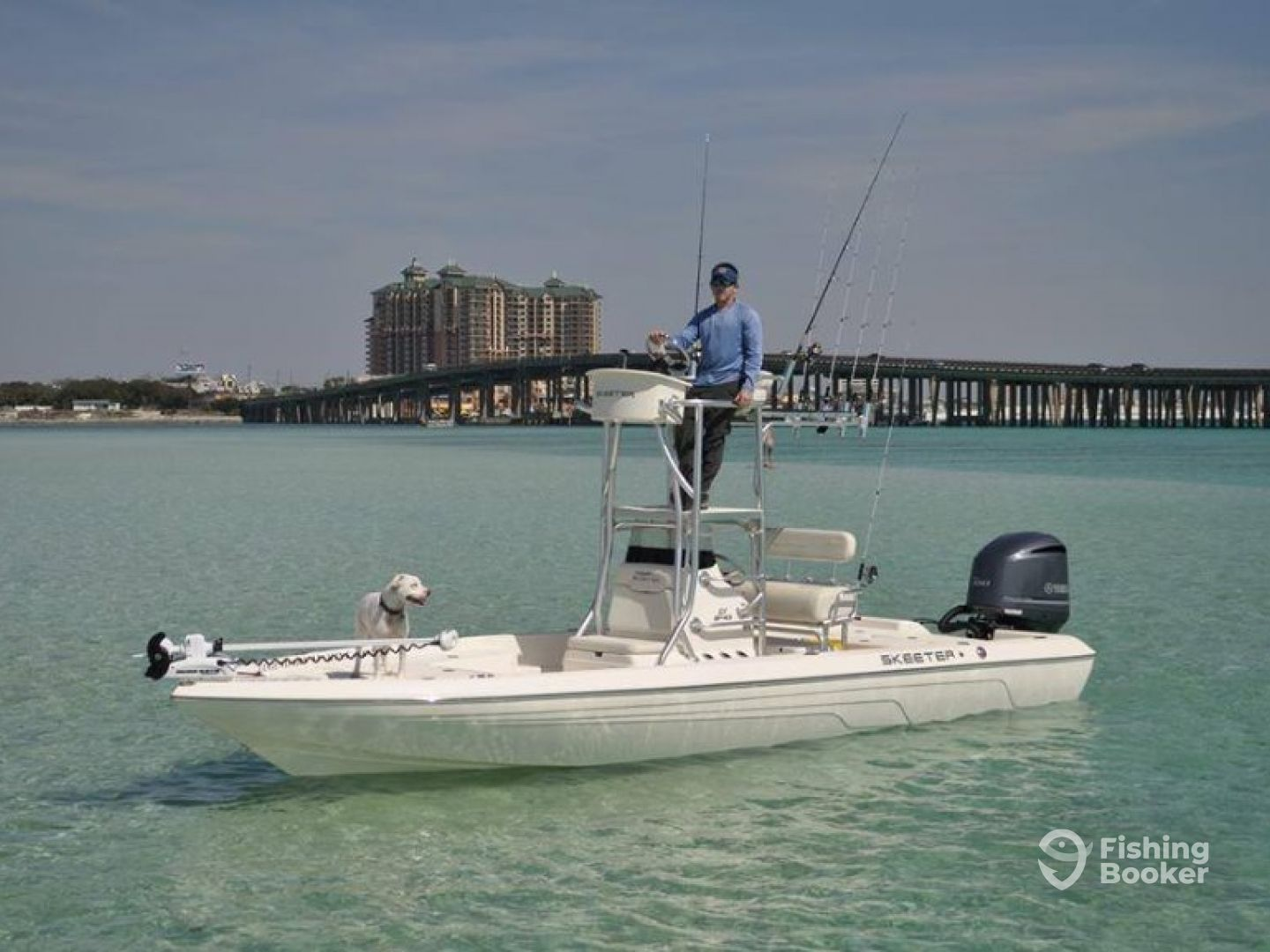 I just found Panhandle Fishing Charters on FishingBooker