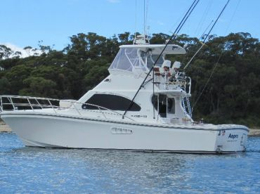 40 Ft Black Watch, charter boat