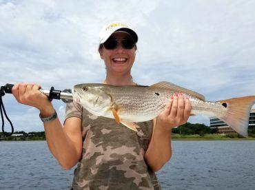 Gulf Breeze Fishing Charters – 18'