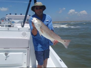Nice redfish in the surf