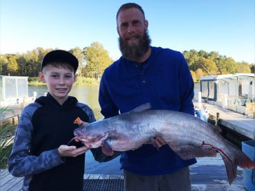 Fishing With Brett For Catfish
