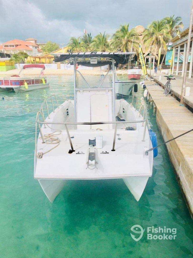 Deep Sea Fishing - Belize Parasail