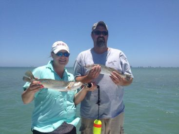 Had a great time catching specked trout