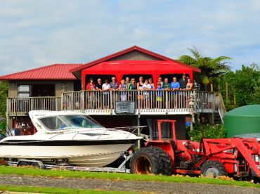 We offer affordable accommodation at Waihau Bay too.