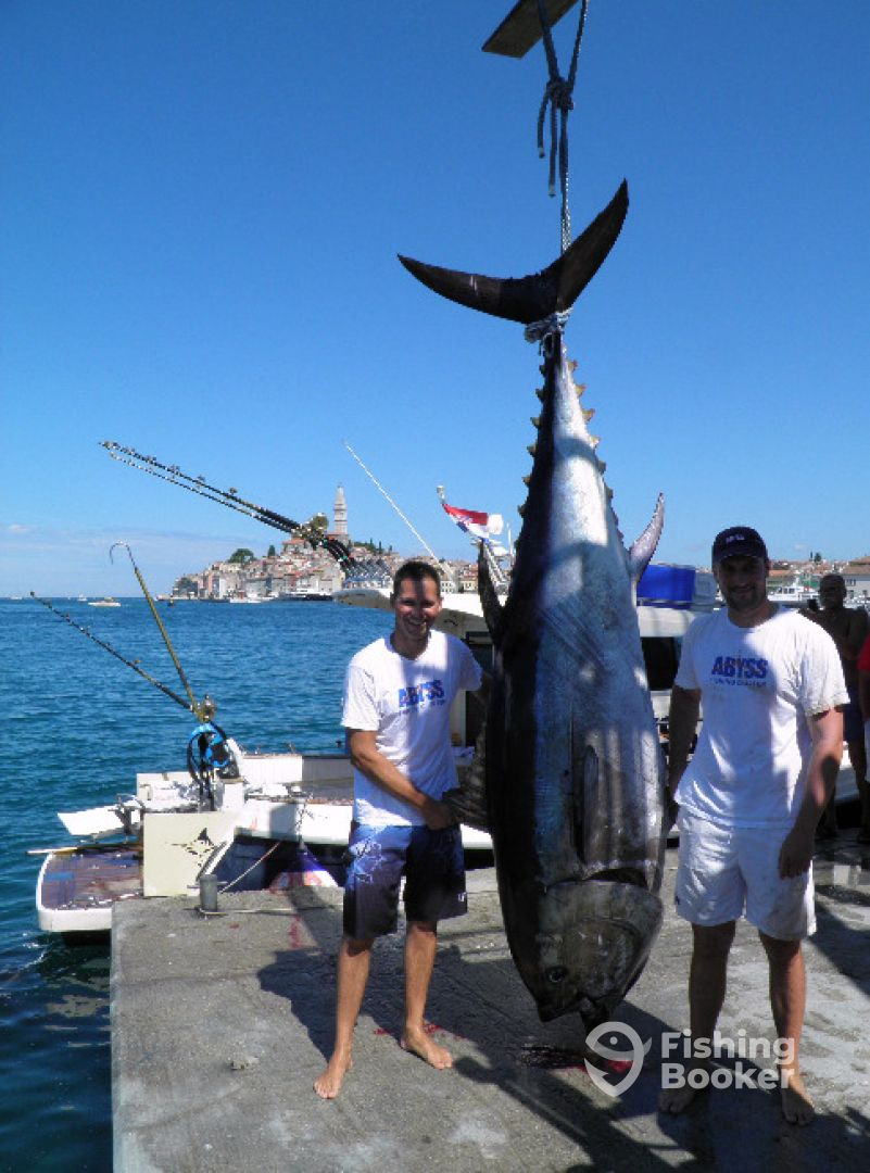 Abyss big game fishing rovinj croatia fishingbooker for Big fishing net