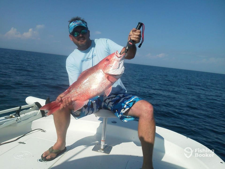 Adrenaline on h2o charters panama city fl fishingbooker for Pcb fishing charters