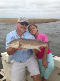 Dwayne and his daughter