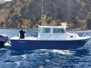 Black and Blue Sportfishing – 32' Parker