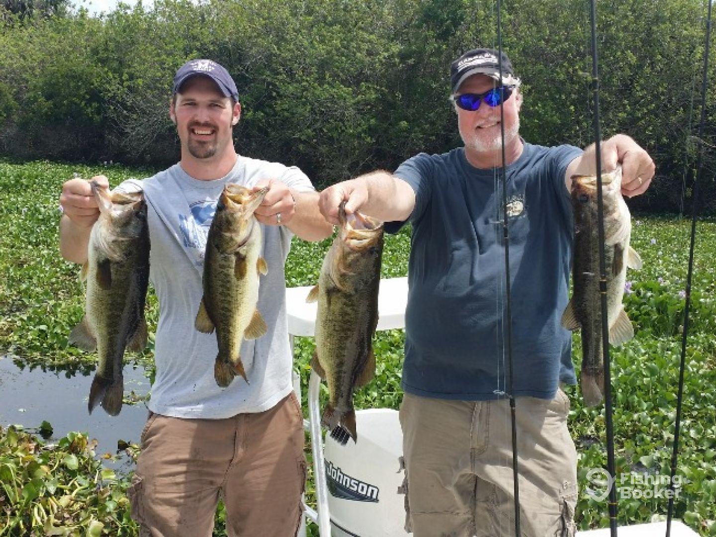 Bass Fishing with Capt. Jonathan