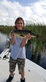Even kids have fun catching bass