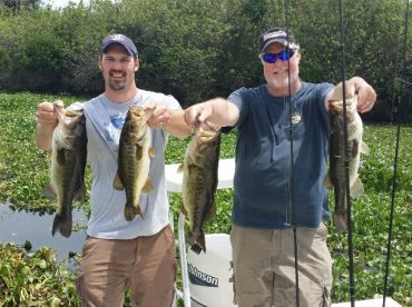 Bass Fishing with Capt. Jonathan