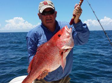 Mark's 14 lb, 14 oz Red Snapper!
