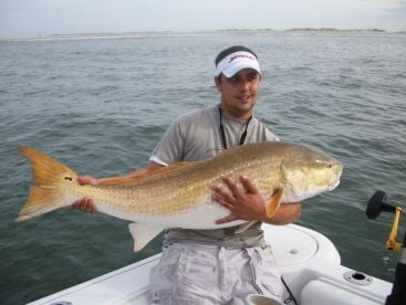 Trophy Red Drum Carolina Style Sportfishing Outer Banks Inshore and Offshore fishing Charters